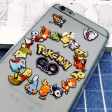 2016 heiße Karikatur-/Spiel-Telefon-Deckel/Fall mit Pokemon Go/Pikachu/Pokeball für iPhone5/6/6plus