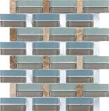 Mosaico de mármol del cristal de mosaico/azulejo de cristal del mosaico/de mosaico de tira