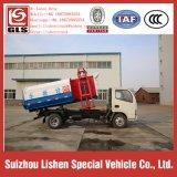 Camion d'ordures de seau de grue de poussoir de Dongfeng petit de déchets de camion hydraulique de collecteur