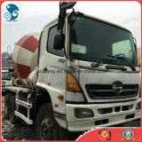 일본 8m3 Mixing Drum Small Used (hino500) Concrete Mixer Truck