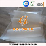 Sheet와 Roll에 있는 각종 Types Greaseproof Wax Paper