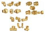 Piezas acodadas de cobre amarillo (A. 0342)