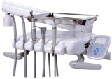 Silla dental estable baja de aluminio Kj-918 para las clínicas dentales modernas