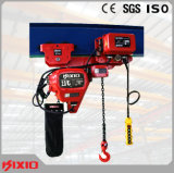 Draaiend de Motor van het Toestel Hijstoestel van de Keten van -2.5 Ton het Elektrische met Haak