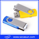 Kundenspezifischer Cheap Metal Swivel USB Flash Drive mit High Speed