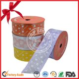 Rullo impaccante della bobina del nastro del regalo del poliestere per la festa di Natale