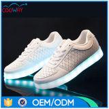 LEDの軽い足底が付いている熱い販売法夜党ダンスの靴