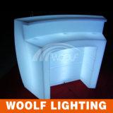 現代移動式円形LED棒カウンター
