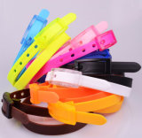2017 New Candy Color Jelly Belt