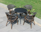 Présidences en aluminium de restaurant de Starbucks de maille de Bamboom de Bistros BRITANNIQUES de la France de meubles de patio de jardin