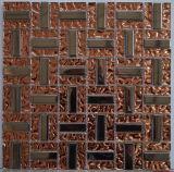 Mosaico de cristal del azulejo de mosaico del material de construcción para la piscina (FYJH144)
