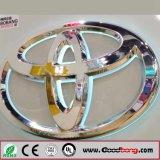 Het Embleem van de Auto van de 3D LEIDENE van de Groothandelsprijs Douane van het Embleem voor Toyota