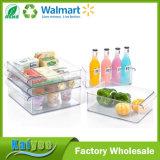 Tipo de vaivén venta al por mayor plástica de la cocina de la promoción del compartimiento de almacenaje del refrigerador