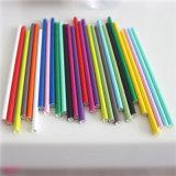 Paja de beber de papel del partido colorido con diversos diseños