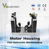 Dispositivo elétrico hidráulico de Workholding da carcaça de motor com Doosan Vcf850