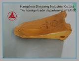 Dente da cubeta da rocha da máquina escavadora do fornecedor de Chiness