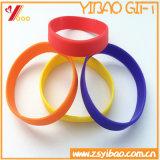 Kundenspezifischer Mischfarben-SilikonWristband für Förderung (YB-SW-80)