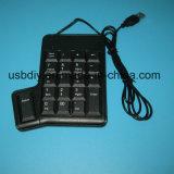 Teclado personalizado de 20key Digitas, o teclado de computador da tabela