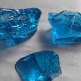 China 2016 heißer Verkaufs-dekorative Glasfelsen