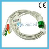 Cable con los Leadwires, IEC de Spacelabs ECG