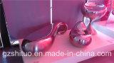 Mobilia creativa ed astratta dell'acqua, dell'acciaio inossidabile