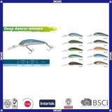 Différentes Formes et Couleurs Hard Minnow Fishing Lures