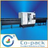 관 조립식 가옥의 부분품 제조 고속 관 절단 및 경사지는 기계