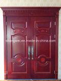 Doppelter Eingangs-feste hölzerne Tür