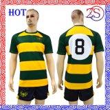 Camice all'ingrosso a buon mercato in bianco su ordinazione di rugby della Jersey di rugby