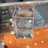 Миниые кристаллический машины фотоего штемпеля лазера 3D внутренние делая