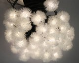 크리스마스 Lh Sx20를 위한 태양 에너지 LED 끈 빛 Fluff 꽃송이