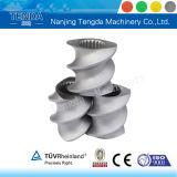Компонент штрангпресса винта Tenda твиновский для всех композиционных материалов