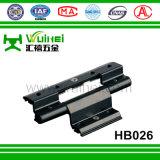 Charnière de pivot d'enduit de pouvoir d'alliage d'aluminium pour la porte avec ISO9001 (HB026)
