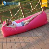 휴대용 DIY 공기 자기 침대 게으른 콩 부대 팽창식 소파