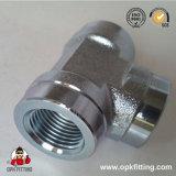ISO 1179 женщины Bsp Tee гидровлический штуцер GB-Pk