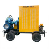 Bomba de água montada reboque do motor diesel