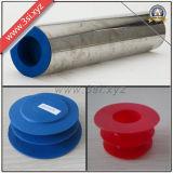 Вставки конца стальной трубы LDPE защитные (YZF-H16)