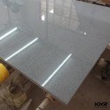 Starlight Gray Color Quartz de mármore em pedra para bancadas de cozinha