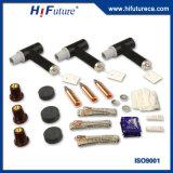 pararrayos de la oleada del equipo de transmisión de potencia del caucho de silicón 17.5kv y de relámpago de la protección de los componentes