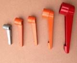 Maniglia registrabile nera/rossa/arancione/dell'argento morsetto di leva
