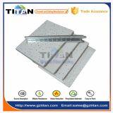 Telha mineral acústica do teto da fibra