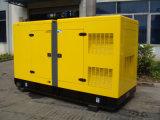 генератор дизеля Cummins резервного тарифа 125kVA 100kw звукоизоляционный