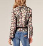 方法印刷の綿織物の熱い卸し売りCustonの女の子のワイシャツおよびブラウス