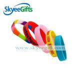Kundenspezifische helle Silikon-Armbänder für Kinder