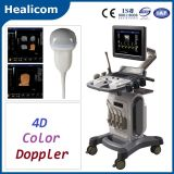 Equipo Médico Trolley completa Digital 4D Doppler color Escáner Ultrasonido