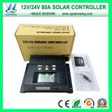80A LCD PWM電池の太陽電池のパネルの料金のコントローラ(QWP-1480RSL)