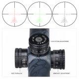 AirsoftハンチングTM4.5-18X40三照らされたレチクルの光学視力の側面のFoucsライフルのスコープ