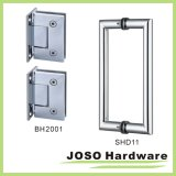 90 Grad Glass zu Wall Brass Wall Mount Shower Hinge