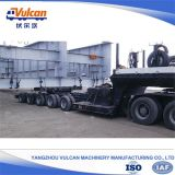 Multi eixos 100 toneladas de reboque modular automotor do transportador