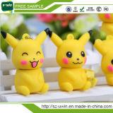 Movimentação bonito do flash do USB da forma de Pokemon Pikachu dos desenhos animados